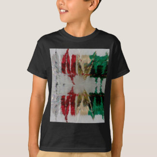 Hot Ice abstract T-Shirt