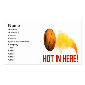 Hot In Here Business Card Templates