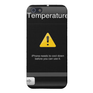 HOT iPhone 4 Temperature Warning case