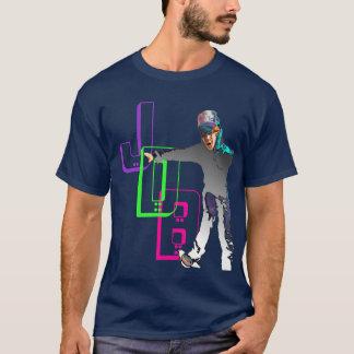 HOT JDB CUSTOM 80's POP RETRO & 3D CHROME SK8 T-Shirt