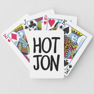 HOT JON BICYCLE PLAYING CARDS