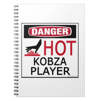 Hot Kobza Player Note Book