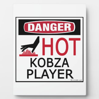 Hot Kobza Player Plaque