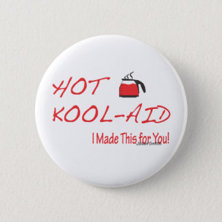 Hot Kool-Aid Julian Smith Pinback Button