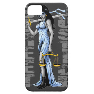 Hot Lady Justice by Street Justice iPhone 5 Covers