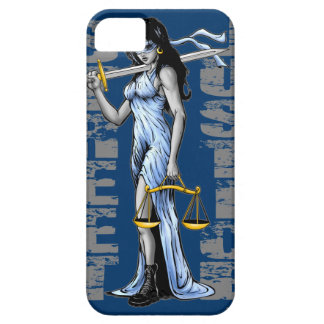 Hot Lady Justice by Street Justice iPhone SE/5/5s Case