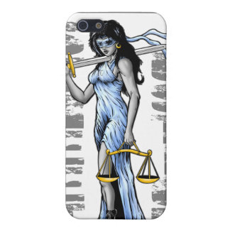 Hot Lady Justice by Street Justice iPhone SE/5/5s Cover