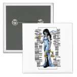 Hot Lady Justice by Street Justice Pins
