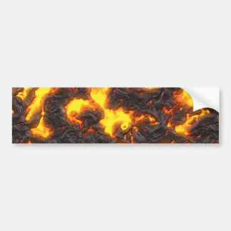Hot Lava Bumper Sticker