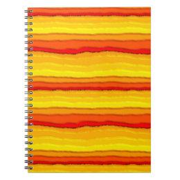 Hot Lava Notebook