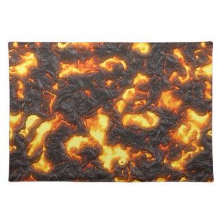 Hot Lava Placemat
