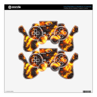 Hot Lava PS3 Controller Decals