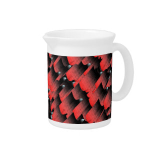 Hot layers beverage pitchers