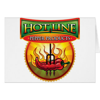 Hot Line Pepper Products Card