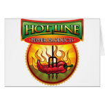 Hot Line Pepper Products Cards