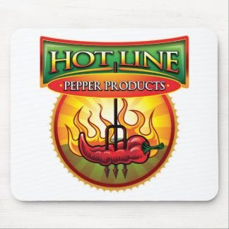 Hot Line Pepper Products Mouse Pad