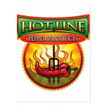 Hot Line Pepper Products Post Card