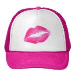HOT LIPS by SHARON SHARPE Trucker Hat
