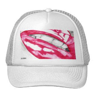 Hot Lips Hat (Fuschia)