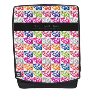 Hot Lips Pop Art Backpack
