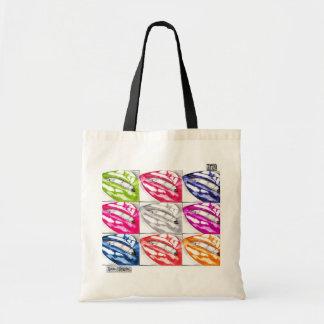 Hot Lips Pop Art Bag