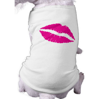 Hot Lips Shirt for Dogs