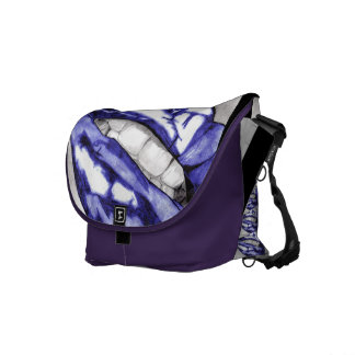Hot Lips (Violet) Courier Bags