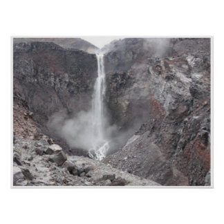 Hot Loowit Falls print