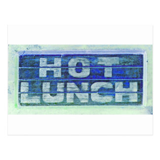 Hot Lunch Postcard