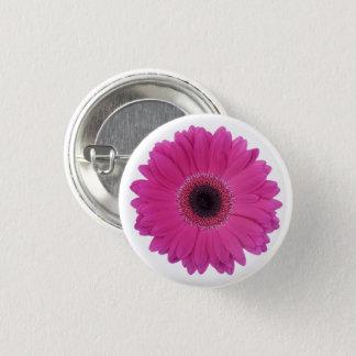 Hot Magenta Pink Gerbera Daisy Flower Button