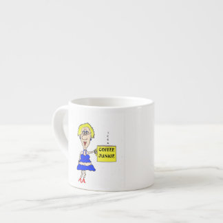 HOT MAMA COFFEE JUNKIE EXPRESSO MUG