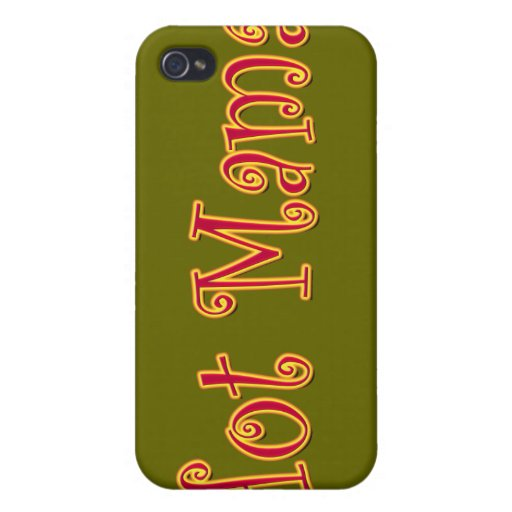 Hot Mama! iPhone 4/4S Cover