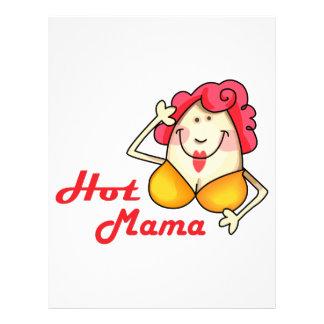 HOT MAMA LETTERHEAD DESIGN