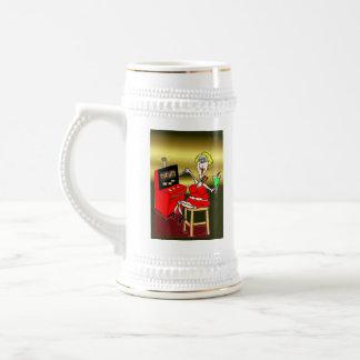 hot mama lucky 7's slot machine martini coffee mug