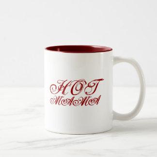HOT MAMA Two-Tone COFFEE MUG