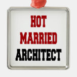 Hot Married Architect Ornament
