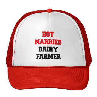 Hot Married Dairy Farmer Mesh Hat