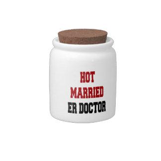 Hot Married ER Doctor Candy Jar