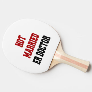 Hot Married ER Doctor Ping Pong Paddle