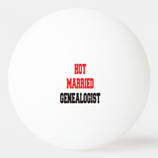 Hot Married Genealogist Ping-Pong Ball