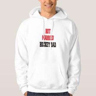 Hot Married Hockey Dad Hoody