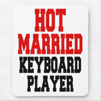 Hot Married Keyboard Player Mouse Pad