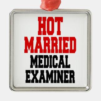 Hot Married Medical Examiner Metal Ornament