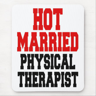 Hot Married Physical Therapist Mouse Pad