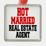 Hot Married Real Estate Agent Ornament
