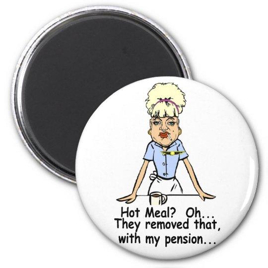 hot meal magnet