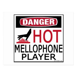 Hot Mellophone Player Postcard