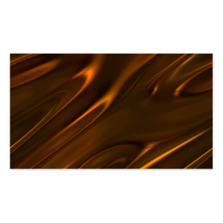Hot Melted Liquid Chocolate Textured Double-Sided Standard Business Cards (Pack Of 100)