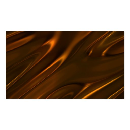 Hot Melted Liquid Chocolate Textured Business Card Template