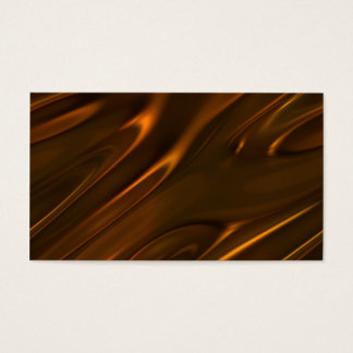 Hot Melted Liquid Chocolate Textured Business Card